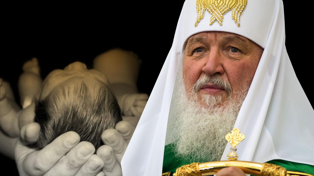 Патриарх Кирилл подписал петицию против абортов